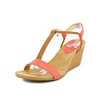 Style & Co Mulan Aberto Toe Couro Falso Wedge Sandal