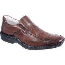 Sapato Antistress Palmilha Gel Macio Confortavel De Pelica