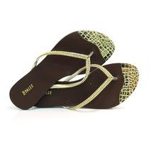 Sandália Rasteira Bialee - R701133 - Vizzent Calçados