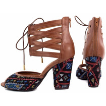 Sapato Sandália Bota Feminina Salto Alto 9 Cm Super Conforto