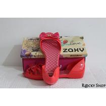 Sandália Zaxy Vermelha - Grendene
