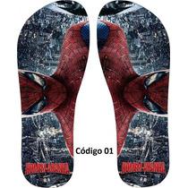 Chinelo Personalizado Do Homem Aranha