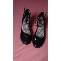 Sapato Melissa Rock Princess Fiorucci Preta - 37