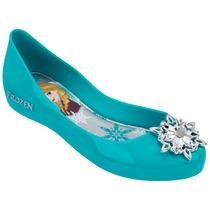 Grendene Sapatilha Disney Frozen Shine 21370 Azul