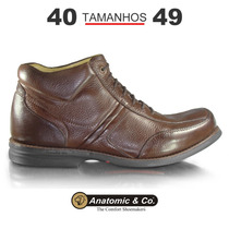 Bota Anatomic Gel Floater Troy - Marrom - Tamanho Grande