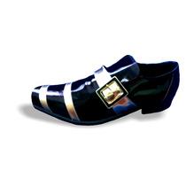 Sapato Social Masculino Envernizado Preto Promoção P:86b