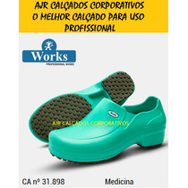 Sapato Med Works Crocks [ Hospital | Gastronomia | Limpeza ]