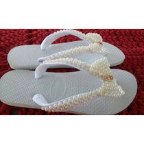 Sandalia Chinelo Havaianas Decorada