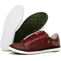 Sapato Tênis Casual Social Direto Da Fabrica Couro Legitimo