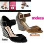 Sandália Moleca Feminino 5222112 Modelo Novo Leve O Seu!!!!!