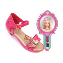 Sandália Infantil Grendene Barbie Lipstick (com Brinde)