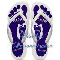Chinelo Sandália Personalizado Presente Dia Dos Pais Pai