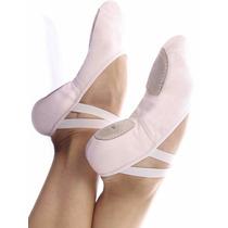 Sapatilha Meia Ponta Ballet Dança Pluma Capézio