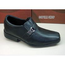 Sapato Social Masculino Couro 100% Legitimo Super Promoçâo