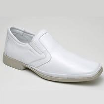 Sapato Social Anti Stress Conforto 100% Couro Legítimo