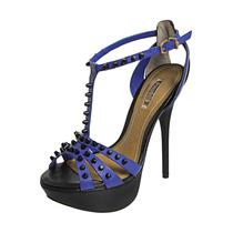 Sandália Dumond Spikes Campanha Azul.nova