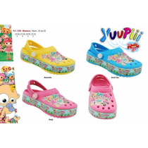 Sapato Infantil Yuupiii Kit Bonecas Calçados Babuche Crocs
