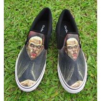 Tênis Calçado Vans Vampiro Nosferatu Rpg Geek Camarilla Sk8r
