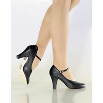 Sapato Para Dança De Salão Só Dança Preto - Ch53
