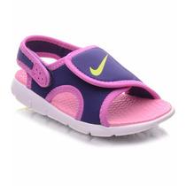 Sandalia Nike Infantil Menina Sunray Adjust 4 386520-400 T27