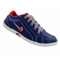 Tênis Masculino Sapatênis Nike Azul