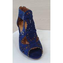 Sandalia Vizzano Azul Royal