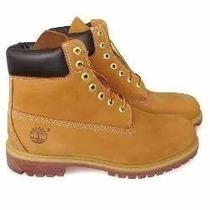 Bota Timberland Yellow Boot 6 Premium Feminina Linda D + Nf
