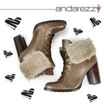 Bota Andarezzy Cano Curto Inverno 2015 Ref. 4443