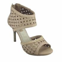 Sandália Feminina Ankle Boots Cor Avelã- Ramarim 1148202