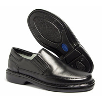 Sapato Social Masculino Antistress Ortopedico