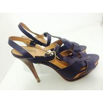 Sandália Azul, Zara, Tamanho 36!