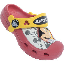 Sandália Infantil Crocs Cc Mickeypeek
