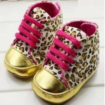 Sapato Infantil Oncinha Passinhos Encantados Importado 21cm