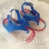 Sapato Infantil Chinelo Polo Bebê Criança Pronta Entrega