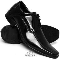 Sapato Social Alto Padrão De Conforto Laser Legitimo. Franca