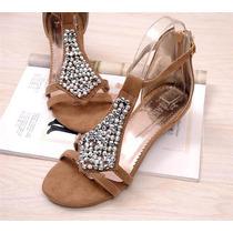 Sandália Fashion Importada Pronta Entrega No Brasil