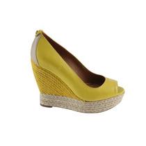 Sapato Espadrille Sandalia Ballasox Corso C Amarelo Camomila