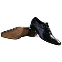 Sapato Social Lançamento 100% Couro Bico Fino Moda