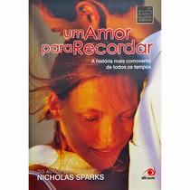 Livro - Um Amor Para Recordar (nicholas Sparks)