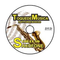 Saxofone 1300 Partituras + 1300 Playbacks+brinde Fretegrátis