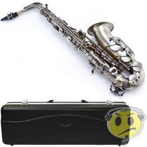 Saxofone Sax Alto Waldman Wsa Ol Vintage Mi Bemol + Estojo