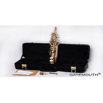 Saxofone Sopranino Em Mi Bemol Reto