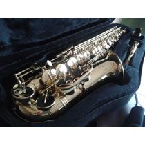 Saxofone Harmonics Eb Has 200l Com Boquilha Yamaha 5c