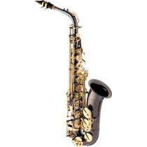 Ritmus ! Eagle Sa500bg : Saxofone Alto Em Mib Cor Black Onyx