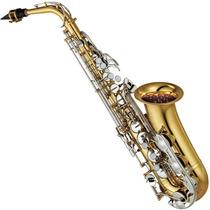 Saxofone Sax Alto Yamaha Yas 26 Id Eb Laqueado Com Case