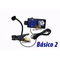 Microfone Sax Clarinete Sopro Msp-33 Controle Volume Básico2