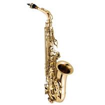 Saxofone Alto Vogga Vsas701 Laqueado Acompanha Case Térmico