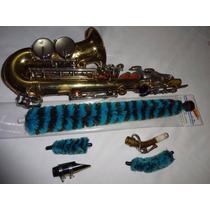 Escôva Kit 3 Escôvas Secadora/limpadora P Sax Soprano Curvo