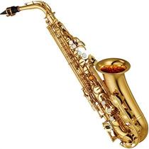 Saxofone Alto Yamaha Yas 280 Eb Laqueado Dourado