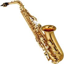 Saxofone Sax Alto Yamaha Yas 280 Id Eb Laqueado Com Case